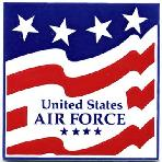 Armed Forces and Military Gift Tile Wall Plaques, U.S. Air Force Wall Plaque by Besheer Art Tile