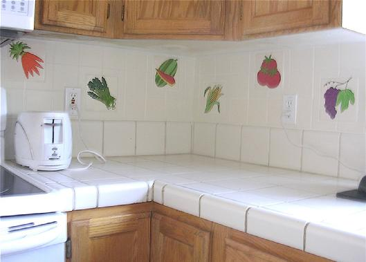kitchen tiles with fruit design. fruit tiles and vegetable in 6\ kitchen tiles with fruit design b